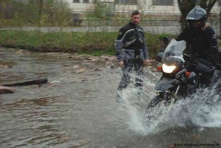 1.Mai Motorradausfahrt, BMW - f650GS, Ardennen - Belgien, Einspurig-Unterwegs