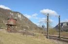 Motorradtour 2014, Donautal, Eisenbahn, einspurig-unterwegs