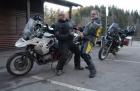 Motorradtour 2014, Ebnisee, einspurig-unterwegs
