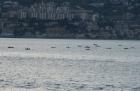 Motorradurlaub 2014, Italien, Abfahrt  Apulien nach Sizilien Italien, einspurig-unterwegs