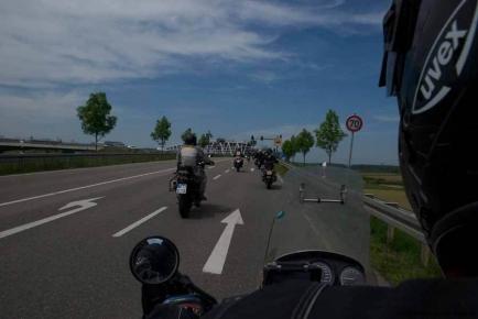 Sternfahrt Bikerday 2012