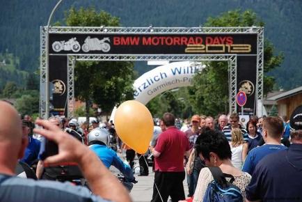 BMW Motorrad Days 2013, Garmisch-Partenkirchen, Einspurig-Unterwegs