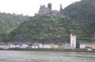 Erster Motorradurlaub 2013 Einspurig Unterwegs, der Rhein