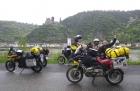 Erster Motorradurlaub 2013 Einspurig Unterwegs-2013, der Rhein