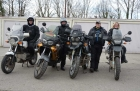 First-Motorbike-Tour 2014, Einspurig-Unterwegs