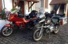 Anfahrt Intermot 2012 - BMW 1150 GS und BMW K75