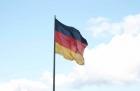 Heimfahrt Intermot 2012 - Deutsches Eck - Koblenz Deutschland - Flagge