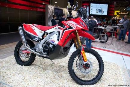 Intermot 2012 - Köln - Honda Rallye Dakar