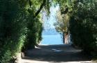 Aussicht vom Camping am Lago Maggiore