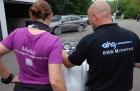 Marion's BMW 1200GS Rallye - Abholung bei AHG in Eningen