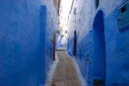 In der Medina von Chefchaouen - Marokko