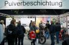 Motorbike Stuttgart 2013 - Pulverbeschichtung