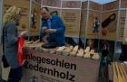 Motorbike Stuttgart 2013 - Zedernholz-  Fusseinlage