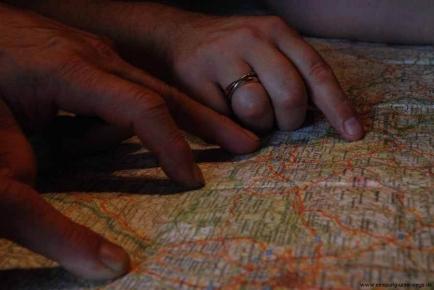 Motorradtour in die Ardennen, Belgien - Planung mit der Michelin-Karte