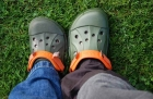 Camping Benelux in La Roche Ardennen, Belgien - Outdoor Crocs