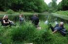 Motorradtour in die Ardennen - Anreise - Pause in Belgien