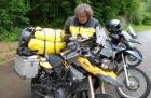 Motorradtour in die Ardennen - Unfall in Luxemburg