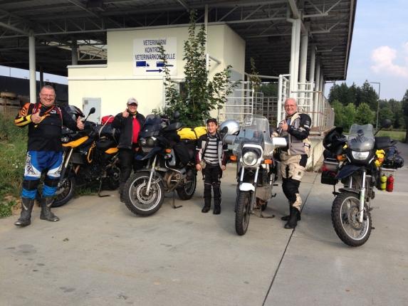 Motorradurlaub 2013 - Osteuropa-Tour:  Schwarzes Meer und  Balkan - Tschechische Grenze