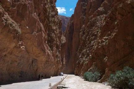 Die Dades-Schlucht im Hohen Atlas in Marokko