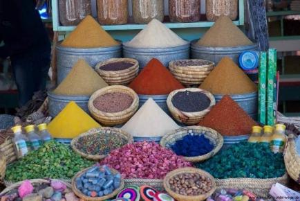 Die Medina von Marrakech - Marokko