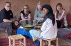 Dromdatour, Sahara, Mhamit, Mittagessen