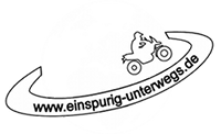 Einspurig unterwegs&#8230;