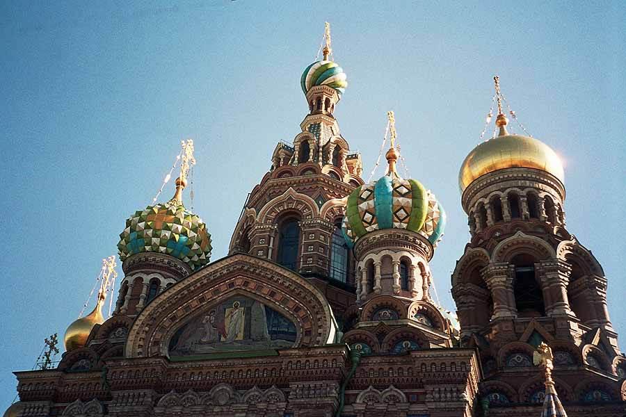 Motorradurlaub Russland - Sankt Petersburg - Die Auferstehungskirche