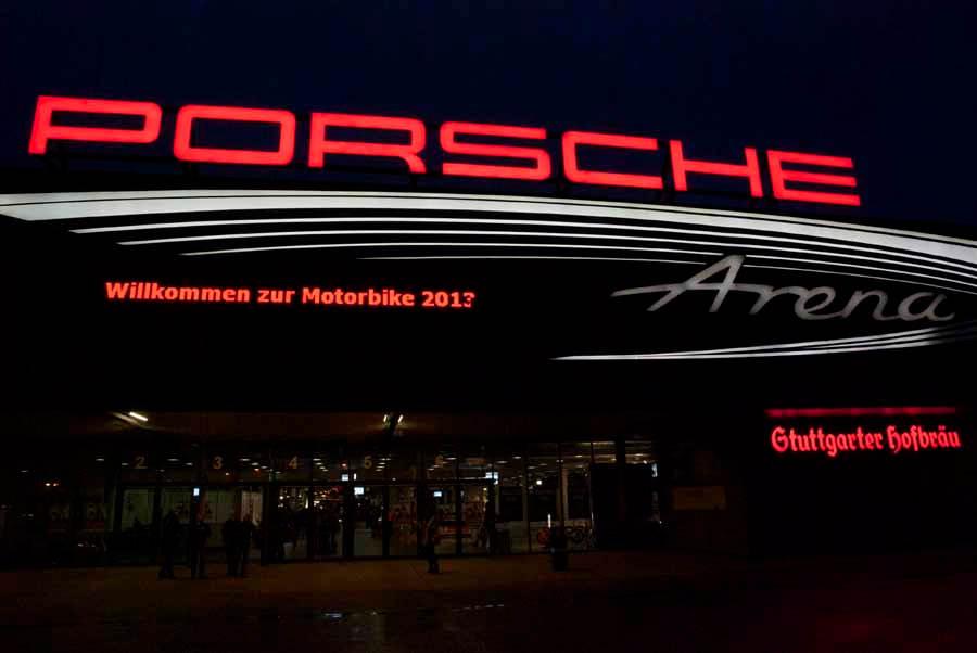 Motorradmesse - Motorbike Stuttgart 2013 in der Schleyerhalle