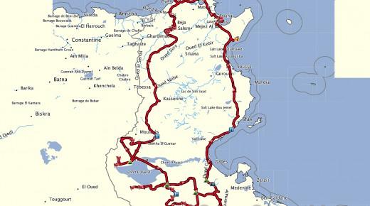 Motorradurlaub-2014-Tunesien-Karthago-Heimreise-einspurig-unterwegs
