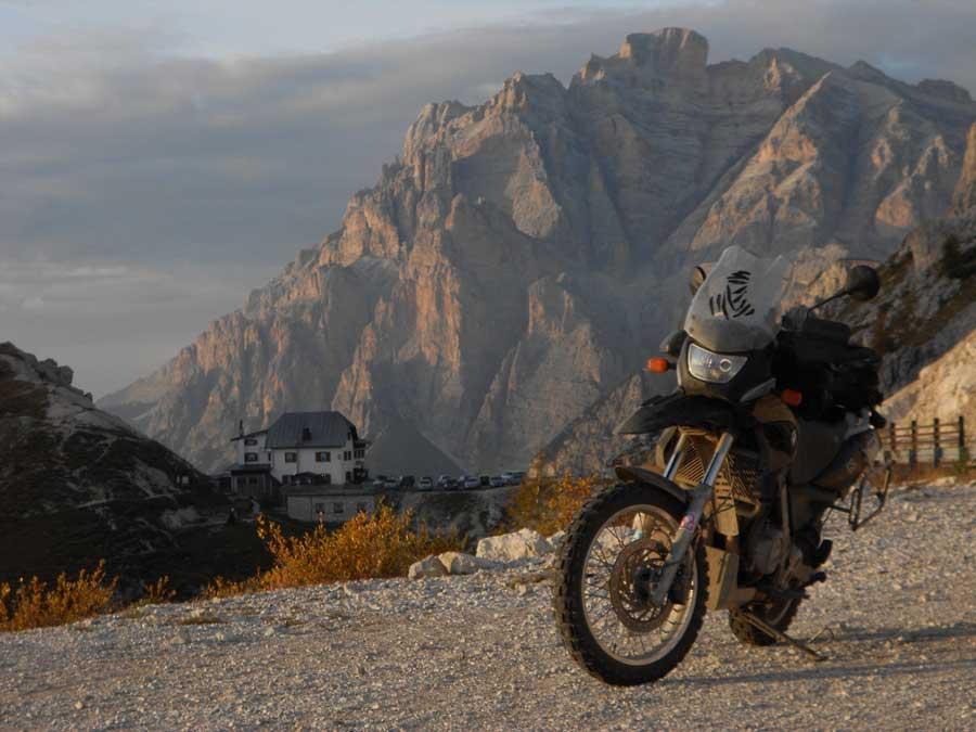 Motorradabschlusstour-2013-Dolomiten Einspurig-Unterwegs
