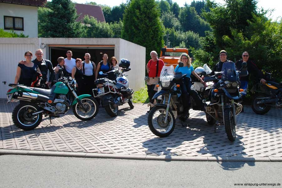Motorradtour-1.-Motorradausfahrt-durch-den-Thüringer-Wald-Brotterode-Pfefferstübchen-Einspurig-Unterwegs